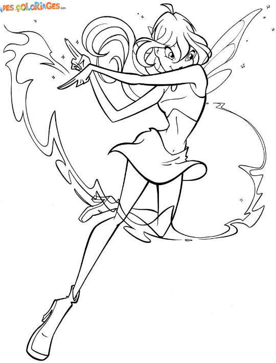 Coloriages winx page 3 - Coloriage wins ...