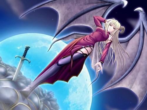 Images manga anges - Image femme manga ...